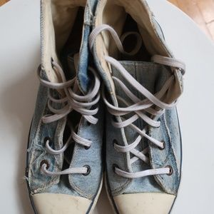 *Limited Edition* Levi's Denim Converse High Tops
